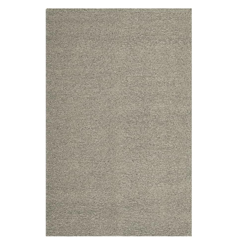 home decorators collection popcorn grey 5 ft x 8 ft area