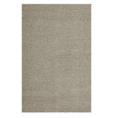 Popcorn Grey 8 ft. x 10 ft. Area Rug