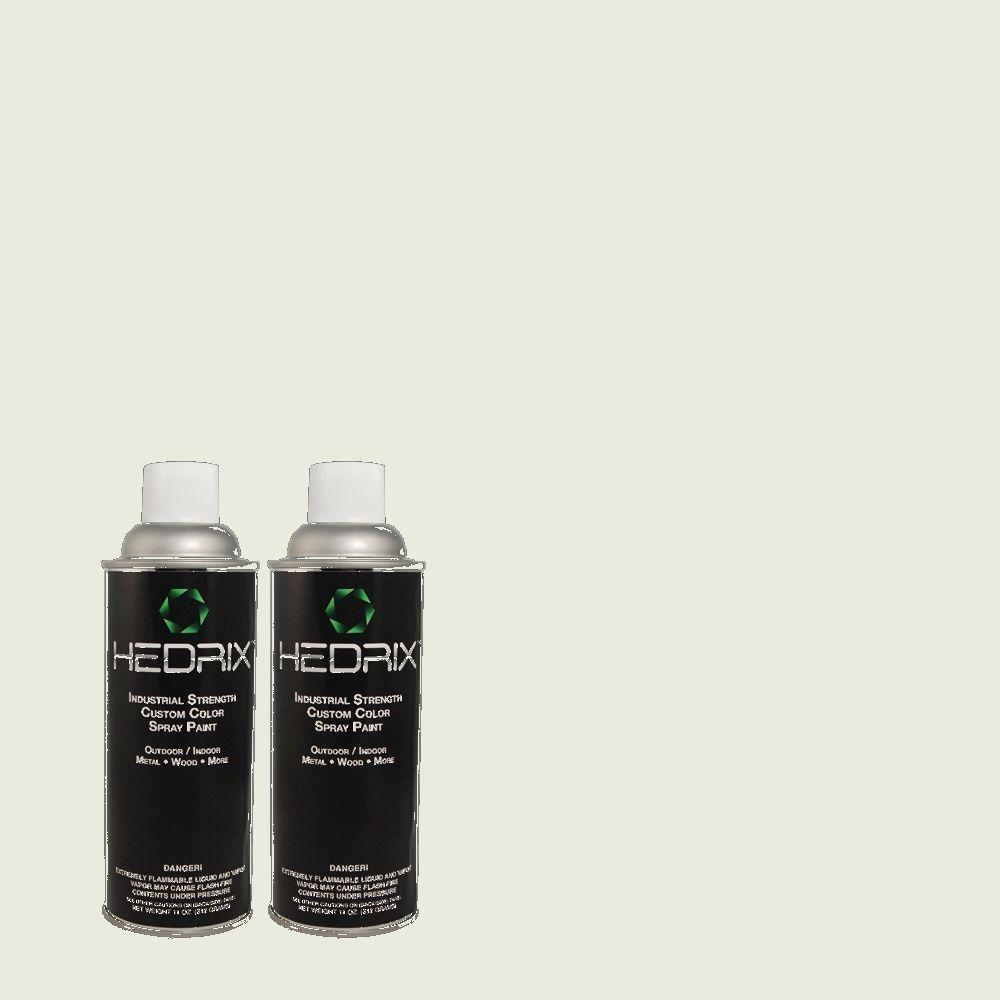 Hedrix 11 oz. Match of C60-11 Seadrift Semi-Gloss Custom Spray Paint (2-Pack)