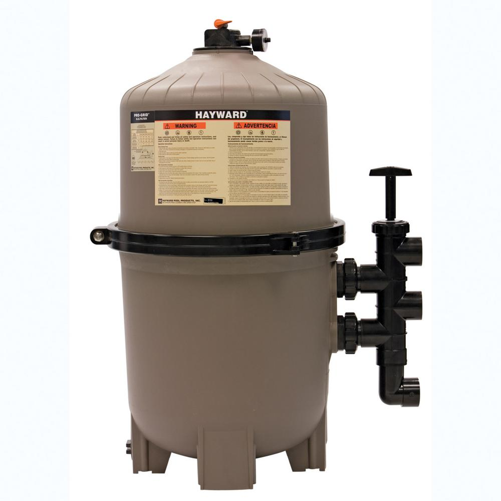 Hayward Progrid 48 Sq Ft De Pool Filter De4820 The