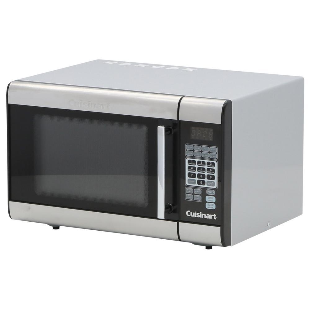 1.0 cu. ft. Countertop Microwave in Stainless Steel