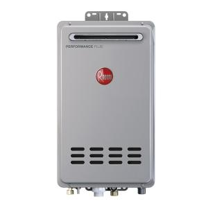 Rheem Performance Plus 8.4 GPM Natural Gas Outdoor Tankless Water Heater