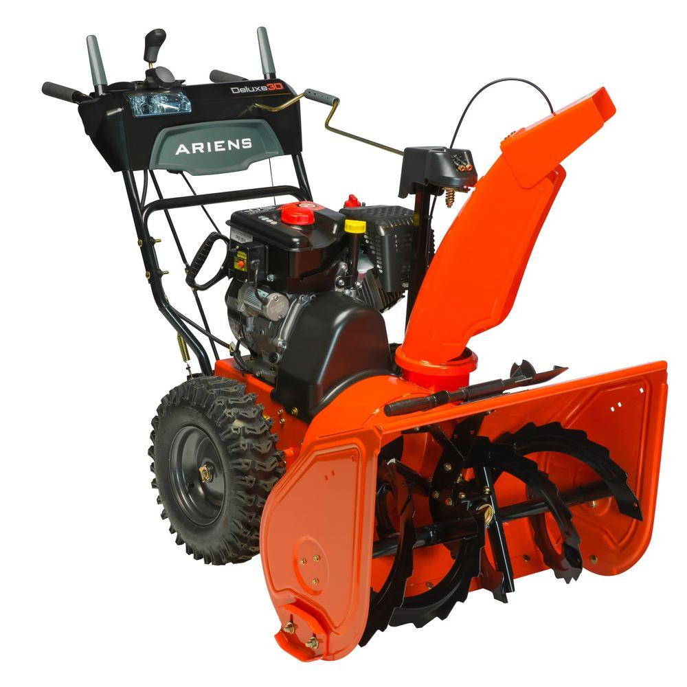 Best Electric Start Snow Blower : Ariens deluxe in stage electric start gas snow