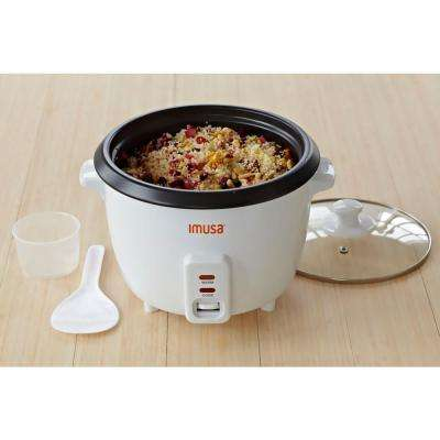 Electric Nonstick Rice Cooker, 5-Cup (Uncooked) 10-Cup (Cooked)