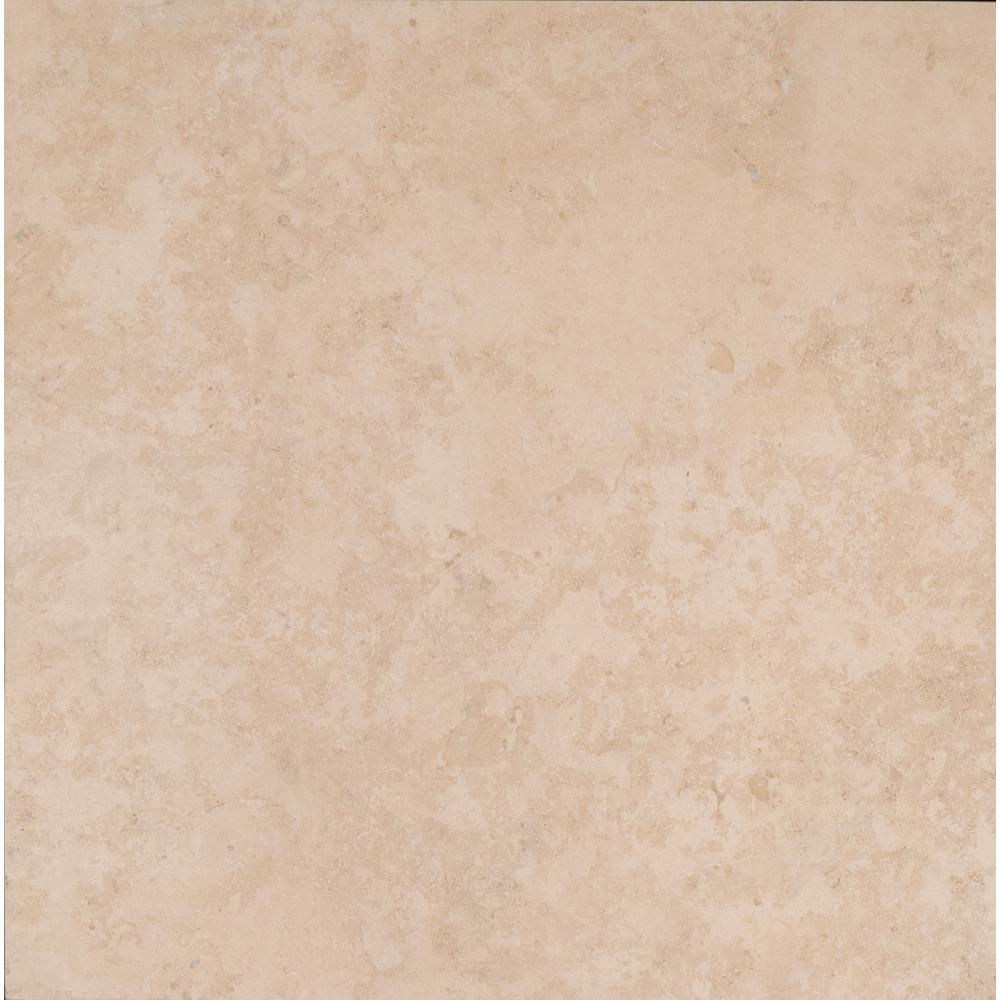 Msi Petra Beige 24 In X 24 In Porcelain Paver Floor And