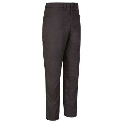 Men's 40 in. x 30 in. Charcoal Lightweight Crew Pant