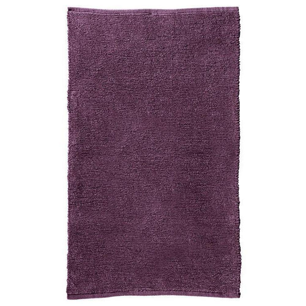 Home Decorators Collection Royale Chenille Plum 1 ft. 8 in. x 3 ft. Accent Rug