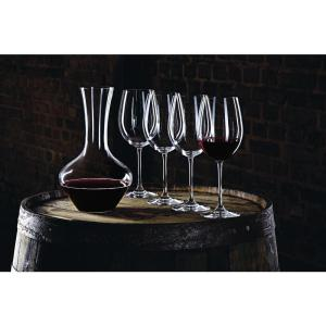 Click here to buy Nachtmann Vivendi 5pc Decanter Set with 4 Bordeaux Stems by Nachtmann.