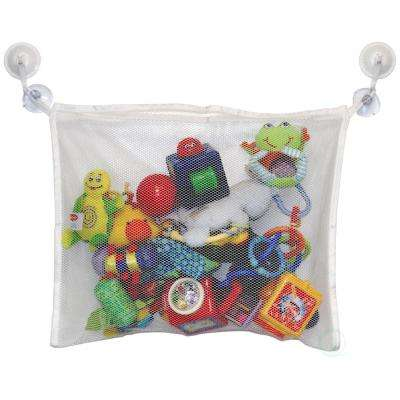Bath Toy Organizer and 2-Hooked Strong Suction Cup