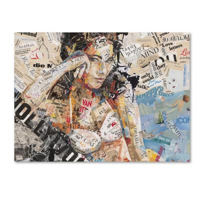 """35 in. x 47 in. """"Hollywood"""" by Ines Kouidis Printed Canvas Wall Art"""
