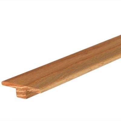 Natural Red Oak 9/16 in. Thick x 2 in. Wide x 84 in. Length T-Molding