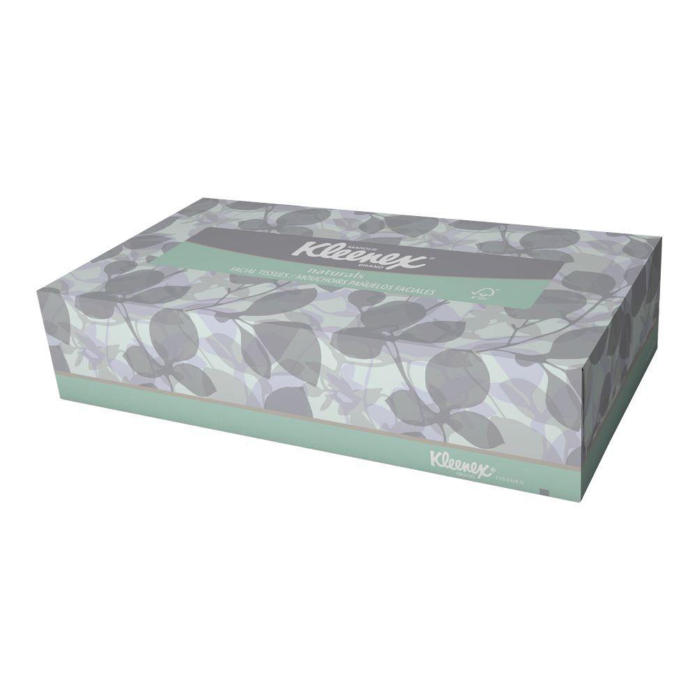 Kleenex Naturals Facial Tissue 2-Ply (125 Sheet/Box, 48 B...