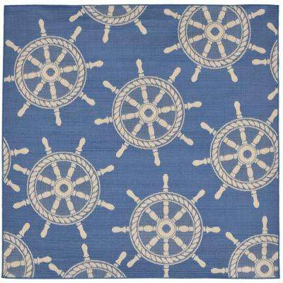 Coastal - Square 7\' and Larger - Outdoor Rugs - Rugs - The Home Depot