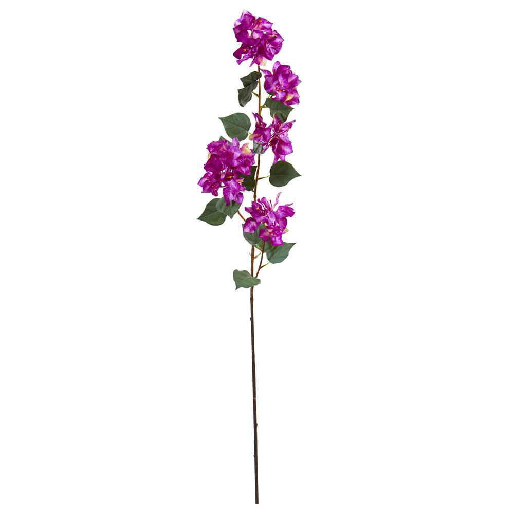 47 in. Bougainvillea Artificial Flower (Set of 4)