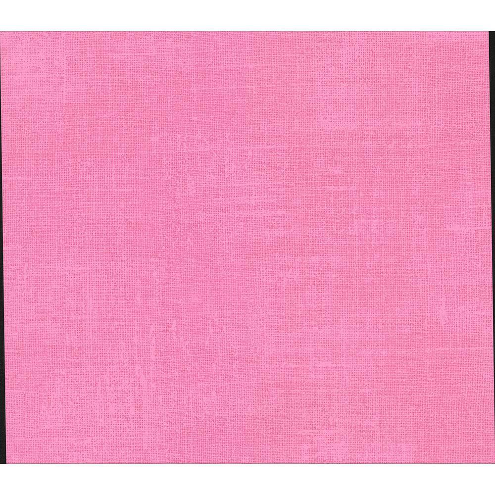 Advantage Langston Pink Linen Texture Wallpaper 2814 803914 The Home Depot