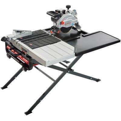 7 in. 13 Amp/115-Volt Wet Tile Saw Kit with Scissor Stand