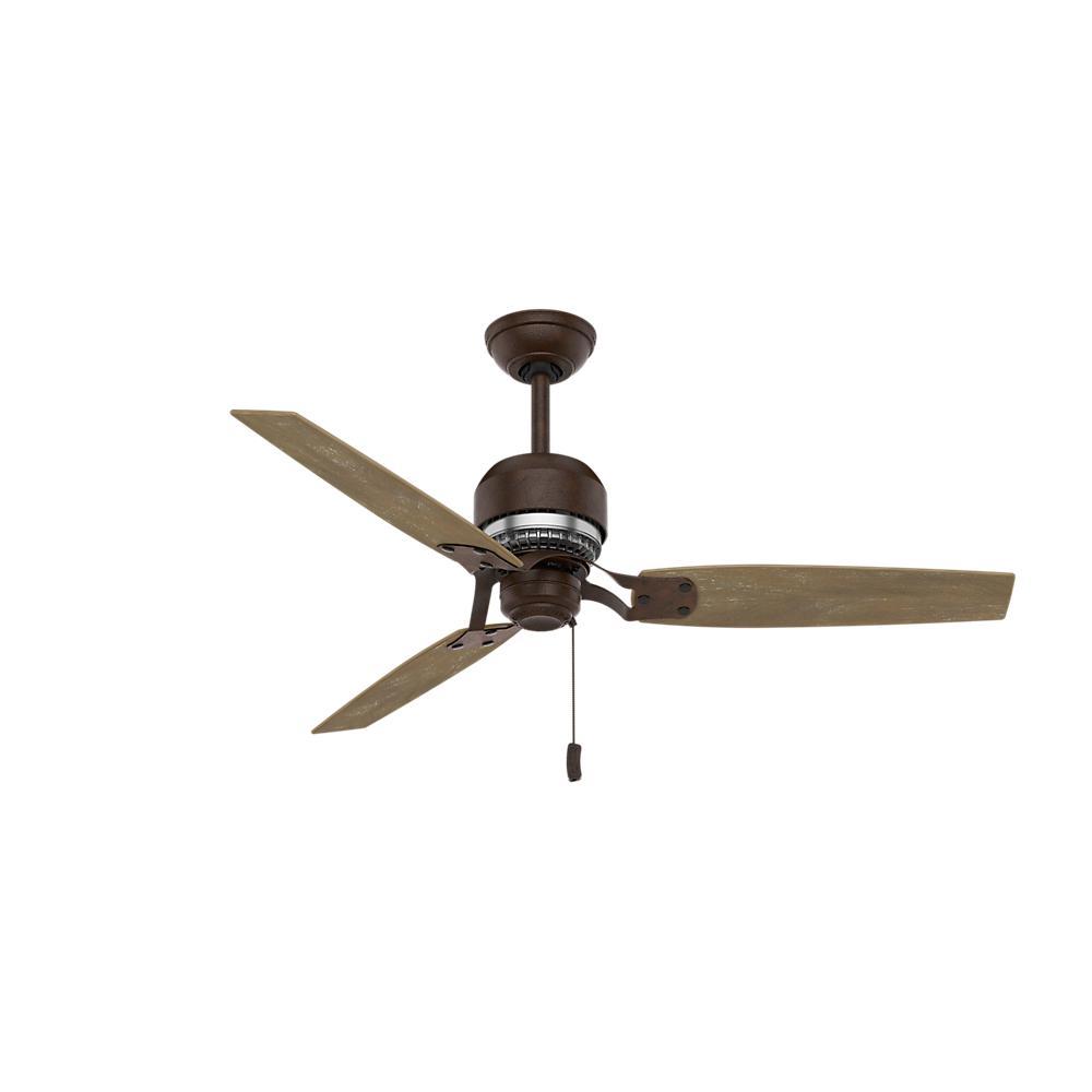 Casablanca Tribeca 52 in. Indoor Industrial Rust Ceiling Fan