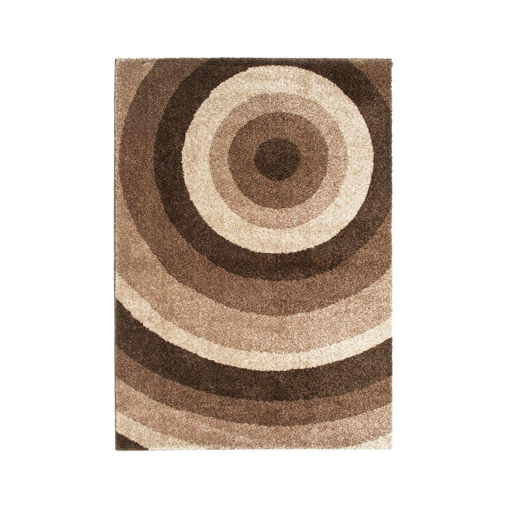 Orian Rugs Ringmaster Bark Brown 2 ft. 6 in. x 3 ft. 9 in. Accent Rug