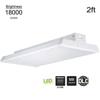 400 Watt Equivalent Integrated Led Dimmable White High Bay Light Output