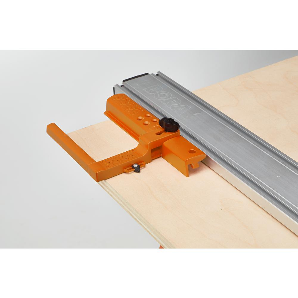 BORA 50 in. WTX Clamp Edge and Jigsaw Guide