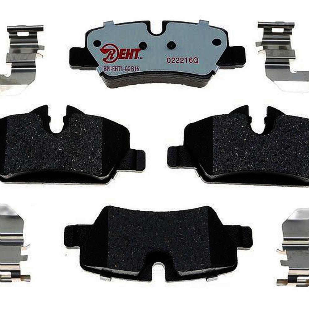 Raybestos Rear Enhanced Hybrid Technology Disc Brake Pad Fits 2015