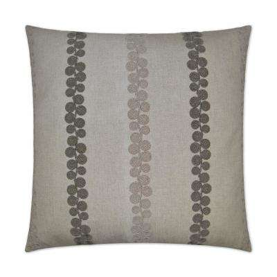 Whitefield Feather Down 24 in. x 24 in. Standard Decorative Throw Pillow