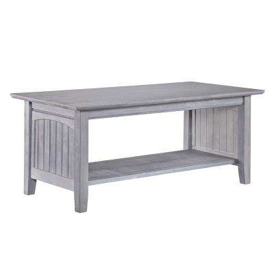 Rectangle Wood Coastal Coffee Tables Accent Tables The