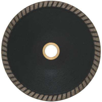 Pro Series 5 in. Concave Tile and Stone Blade 0.085 x 7/8 in. - 5/8 in.