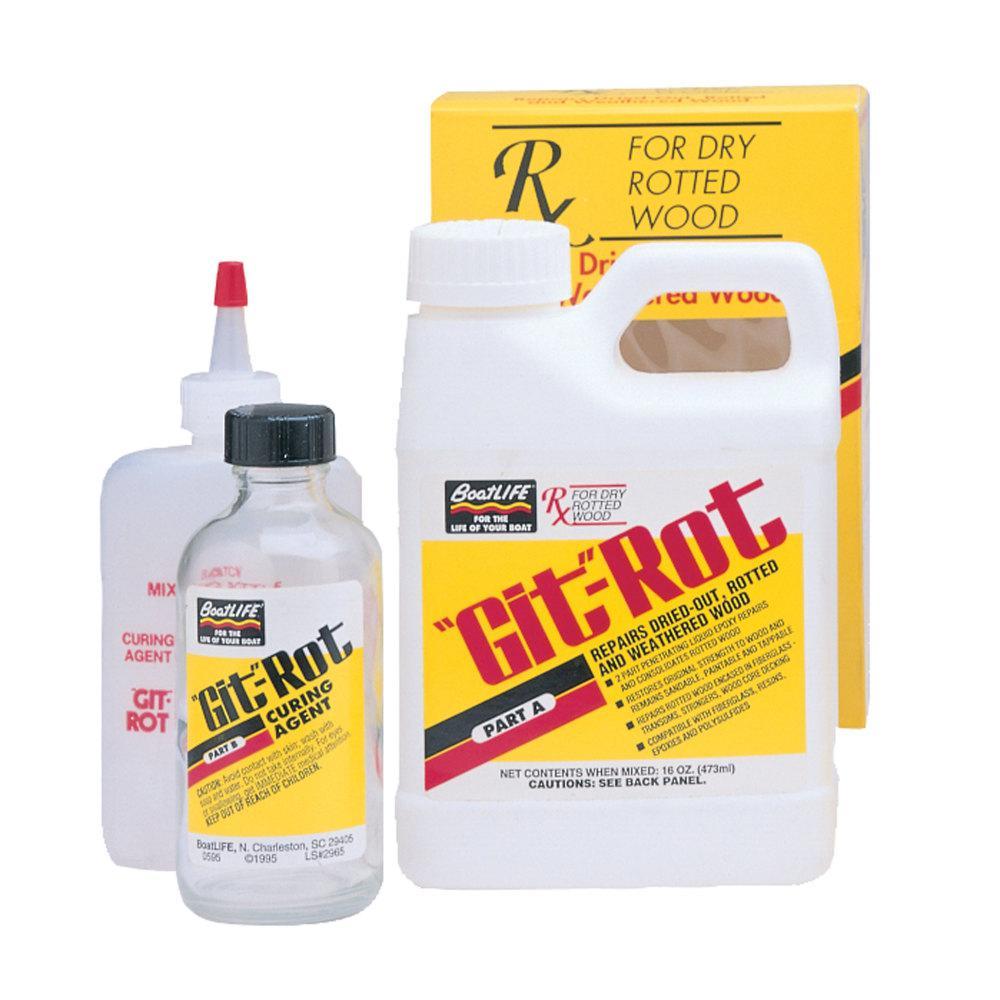 3m 0 9 Qt Bondo Fiberglass Resin Repair Kit 422 The Home Depot