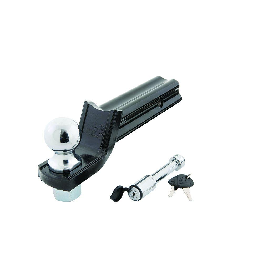 "Class III ""X"" Mount Security Starter Kit with 2 in. Ball and 5/8 in. Locking Pin, 2 in. Drop x 3/4 in. Rise 5000 lb."