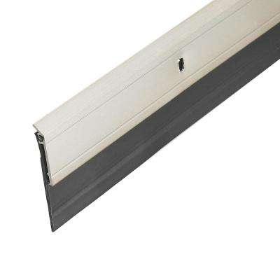E/O 2 in. x 36 in. Satin Nickel Heavy-Duty Door Sweep