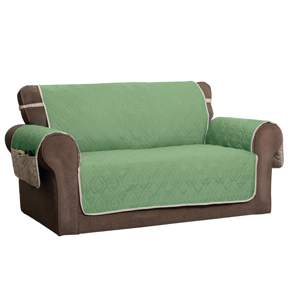 Innovative Textile Solutions ''5 Star Green Loveseat Protector'' 9381LOVEGREEN/IVO