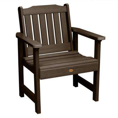 Lehigh Weathered Acorn Recycled Plastic Outdoor Lounge Chair