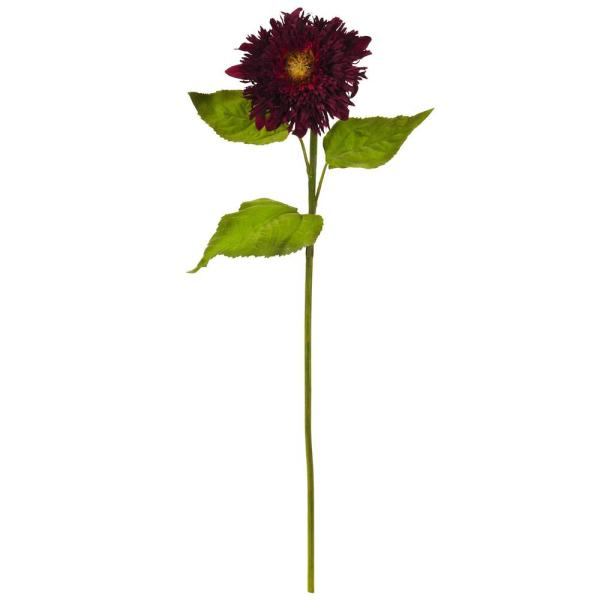 Nearly Natural Indoor 26 in. Sunflower Artificial Flower (Set of 6)