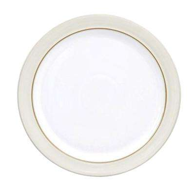 Natural Canvas White Dinner Plate