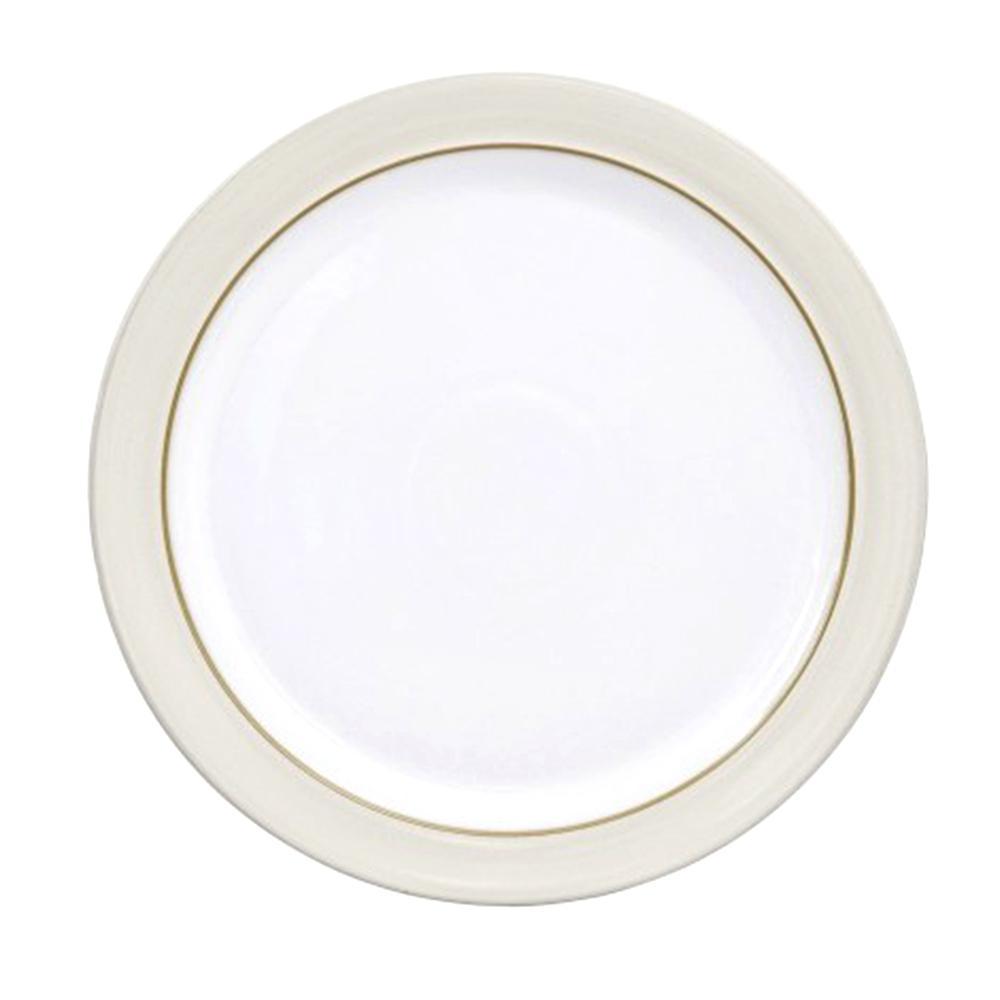 Denby Natural Canvas White Dinner Plate CNV-003