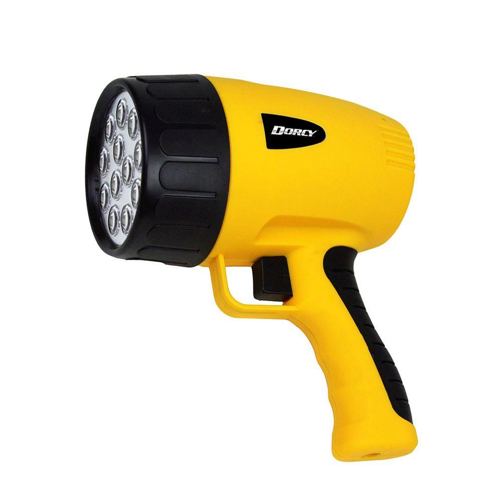 12 LED Rechargeable Pistol Grip Spotlight