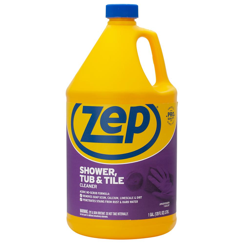 Stupendous Zep 1 Gal Shower Tub And Tile Cleaner Interior Design Ideas Helimdqseriescom