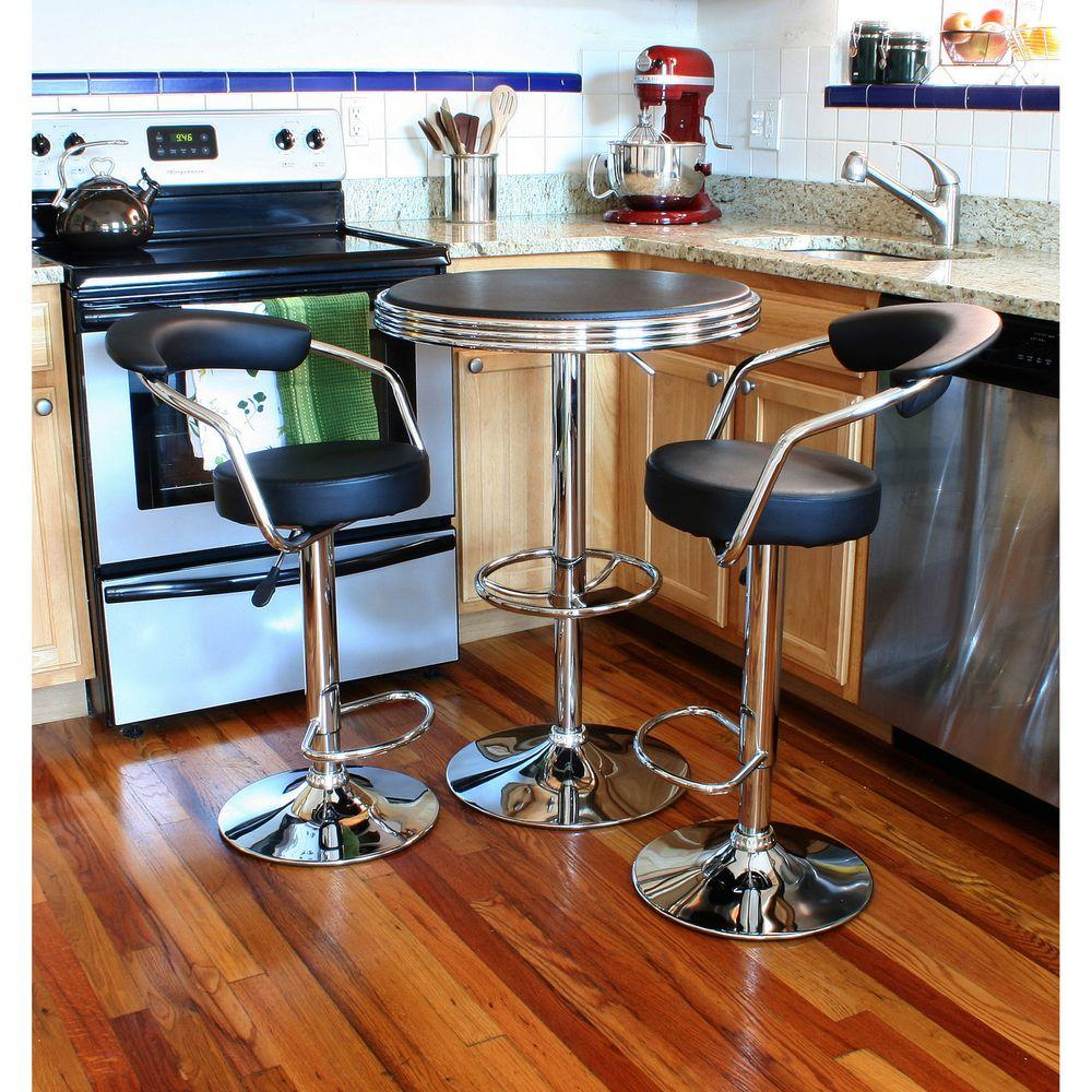 Retro Kitchen Table With Swivel Chairs