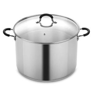 Cook N Home 20 Qt. Stainless Steel Stockpot and Canning Pot with Lid by Cook N Home