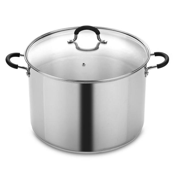 Cook N Home 20 Qt. Stainless Steel Stockpot and Canning Pot