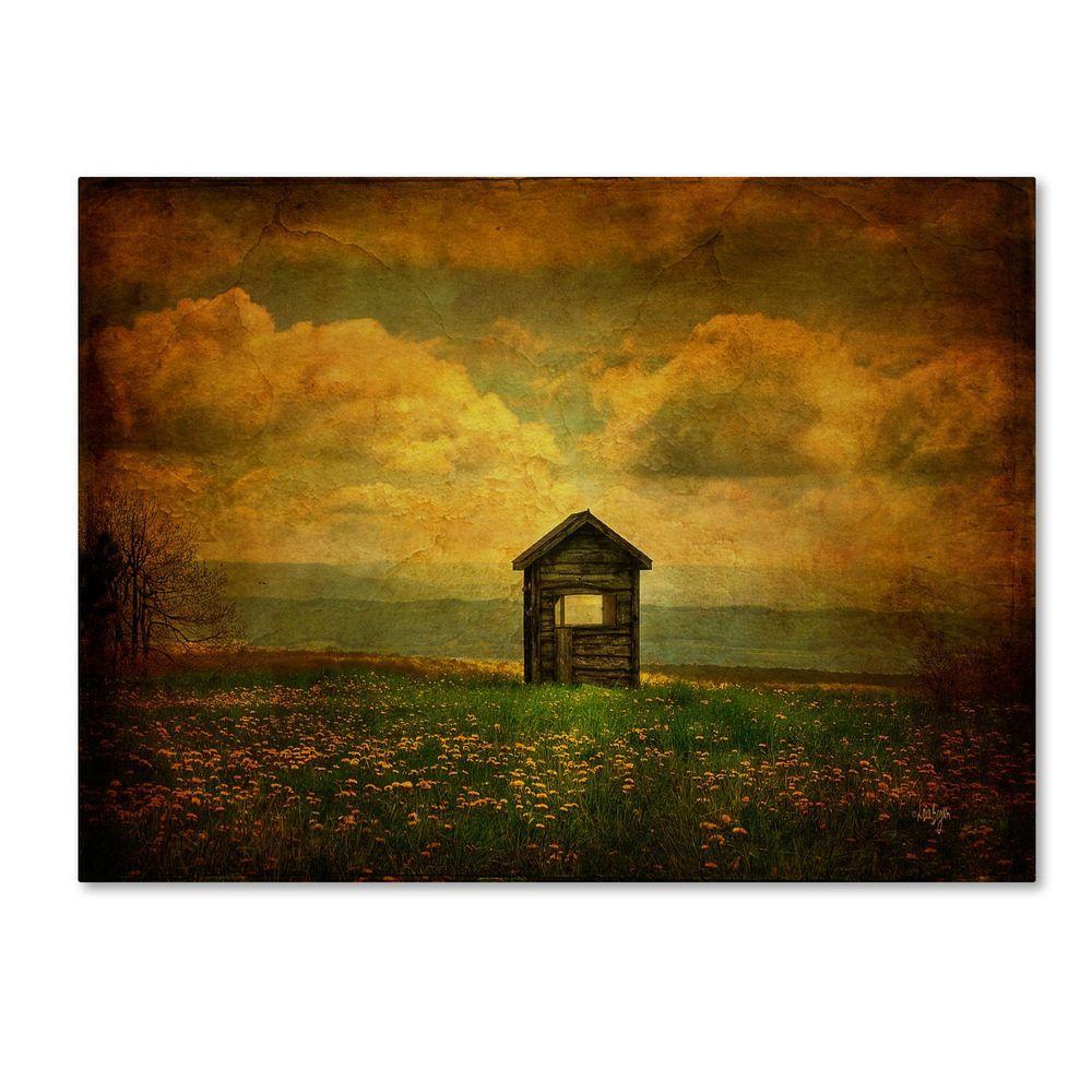null 16 in. x 24 in. Field of Dandelions Canvas Art