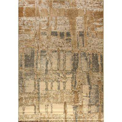 Mysterio Ivory 2 ft. x 3 ft. 11 in. Indoor Accent Rug