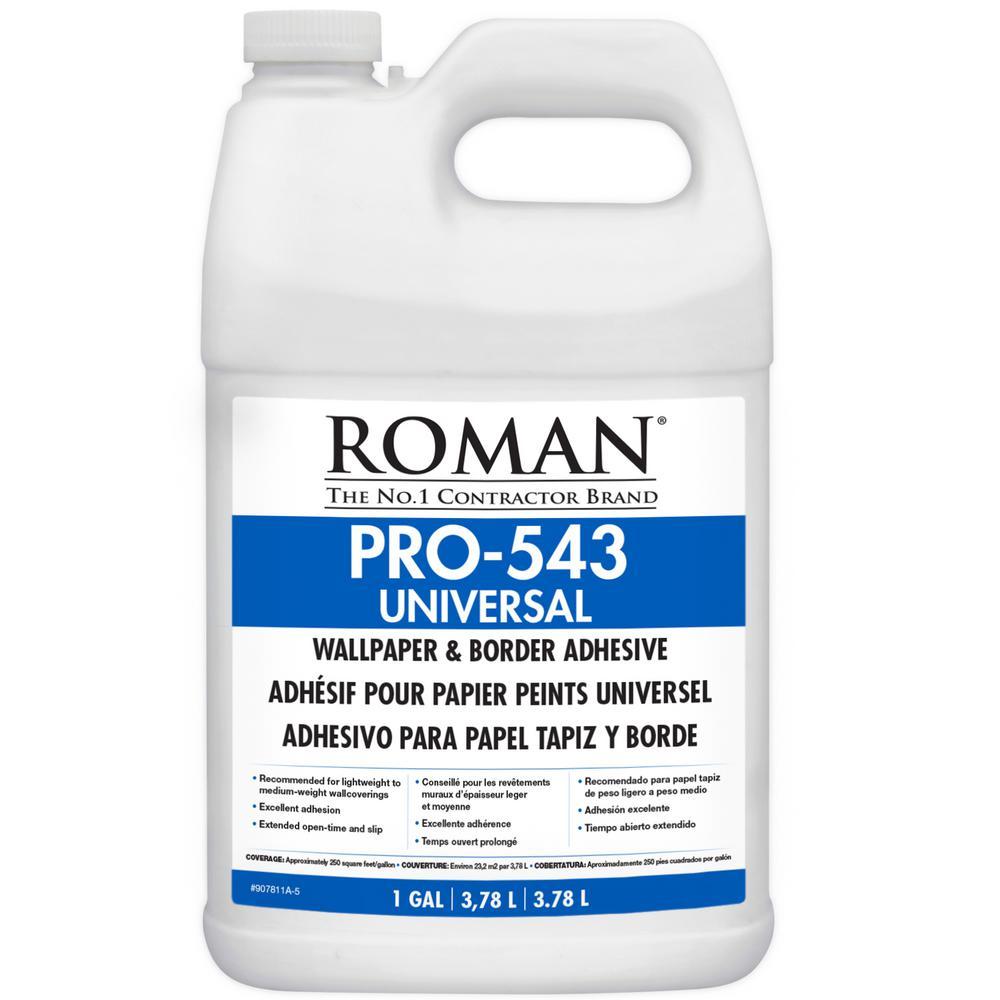 Roman Pro 543 1 Gal F Style Universal Wallpaper Adhesive 209864