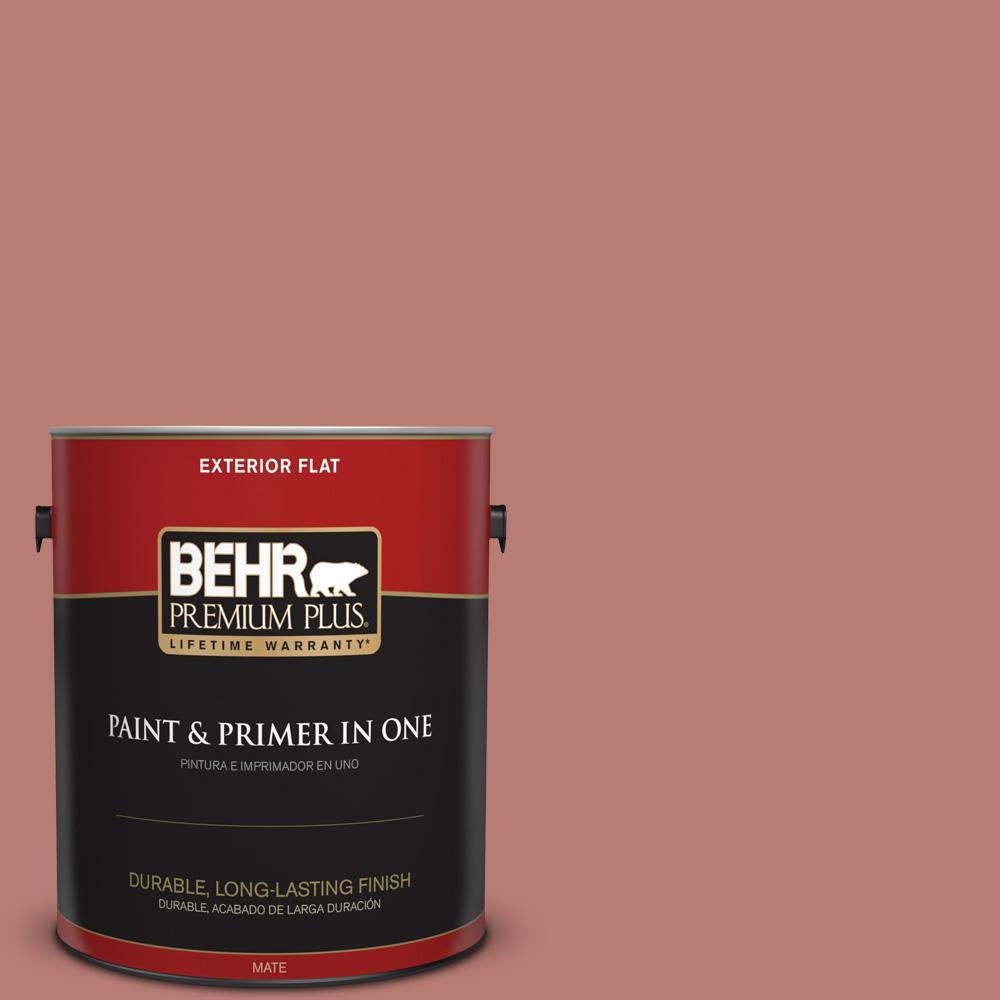1 gal. #PPU2-10 Heirloom Flat Exterior Paint