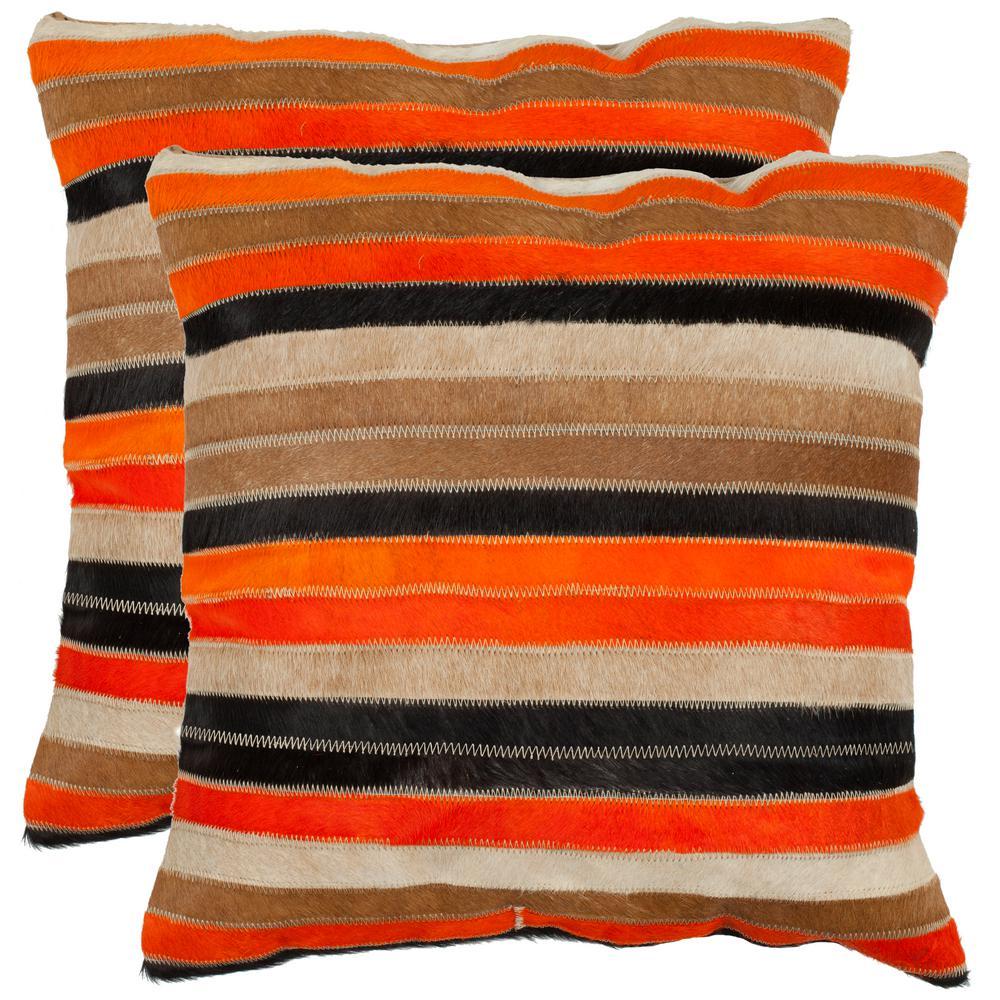 Quinn Cowhide Pillow (2-Pack)