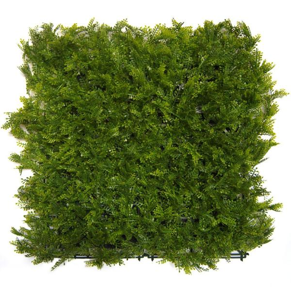 20 in. x 20 in. Artificial Fern Wall Panels (Set of 4)