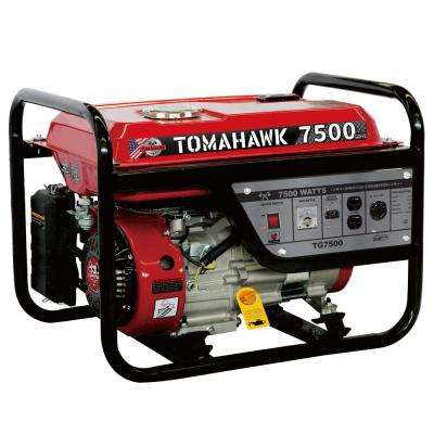 TG7500 6500-Watt Gas Powered Recoil Start Portable Generator with 13 HP Engine
