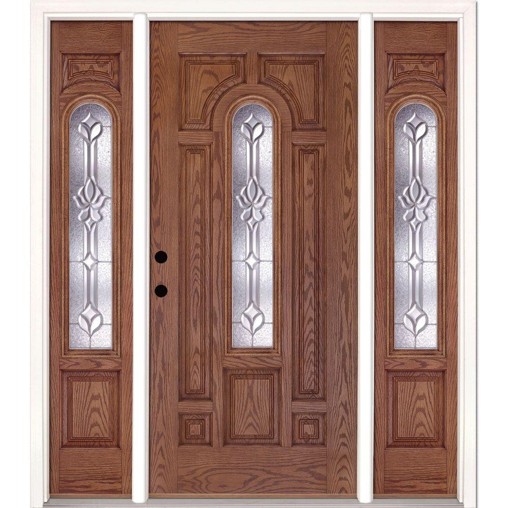 Feather River Doors 63.5 in.x81.625 in. Medina Zinc Center Arch Lt & Feather River Doors 63.5 in.x81.625 in. Medina Zinc Center Arch Lt ... pezcame.com