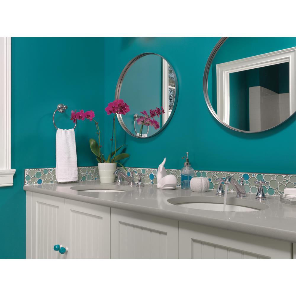 Delta 3595LF-MPU-LHP Cassidy Two Handle Low-Arc Widespread Bathroom Faucet